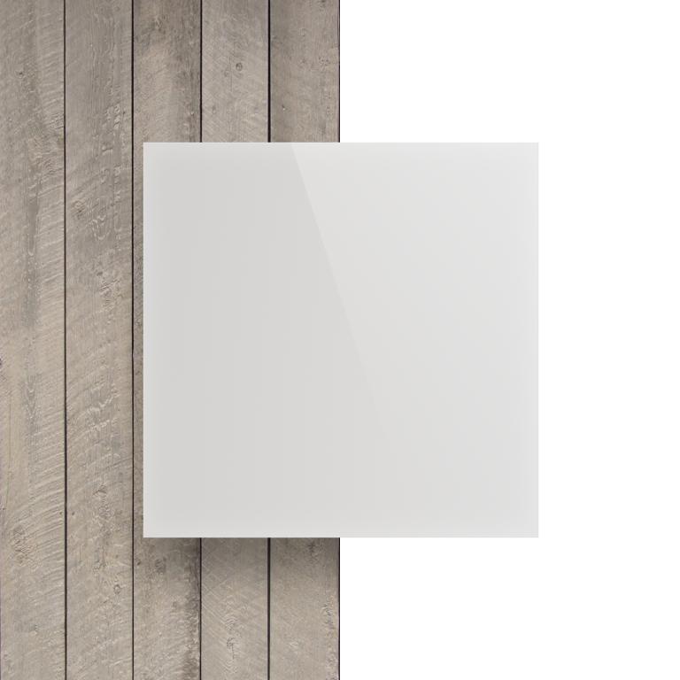 Devant Plexiglass blanc opale