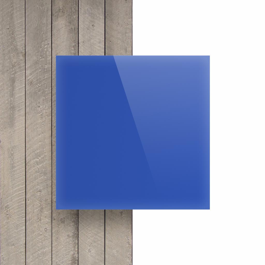 Devant Plexiglass bleu opale