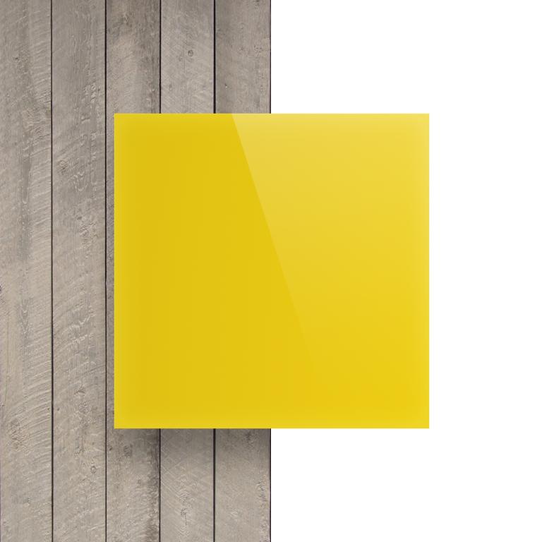 Devant Plexiglass jaune opale