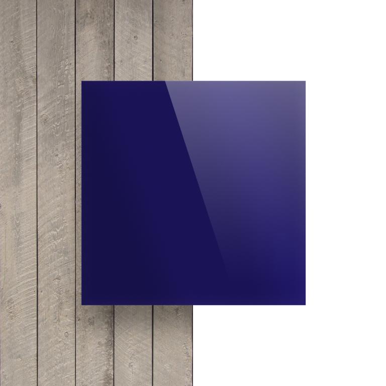 Devant Plexiglass miroir bleu