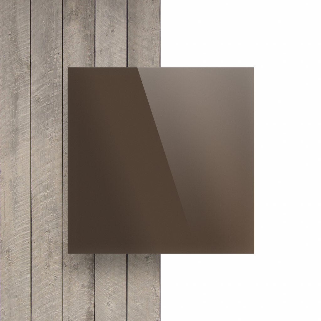 Devant Plexiglass miroir bronze
