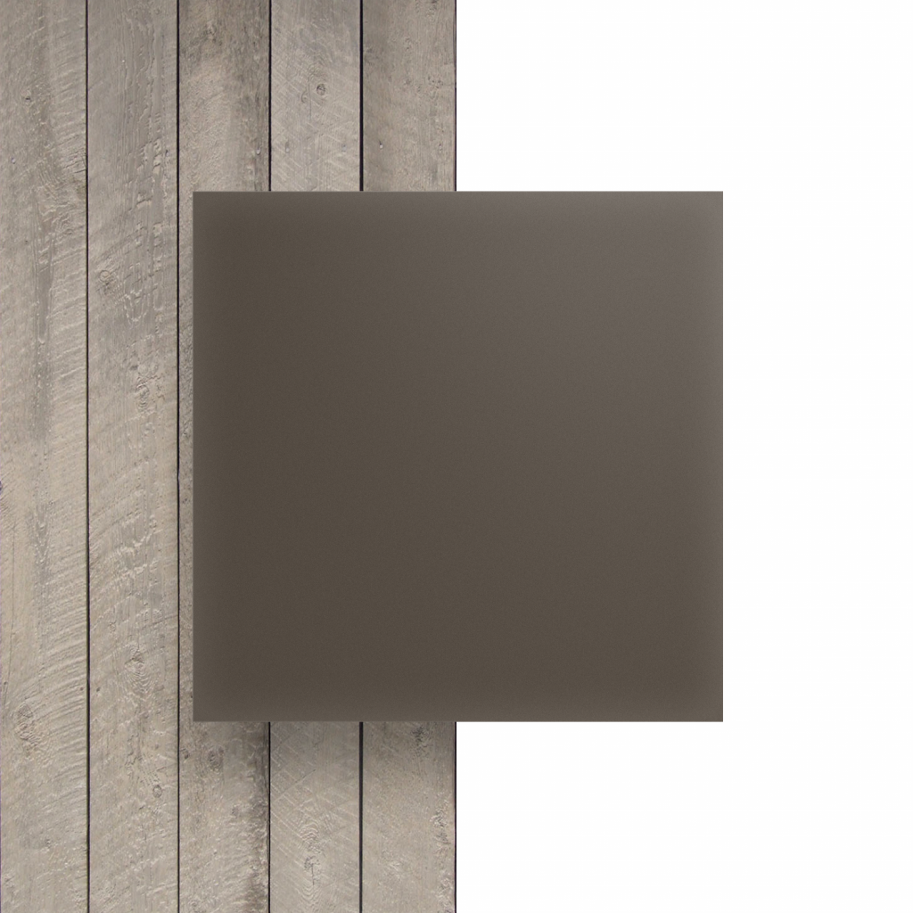 Devant Plexiglass santine argile