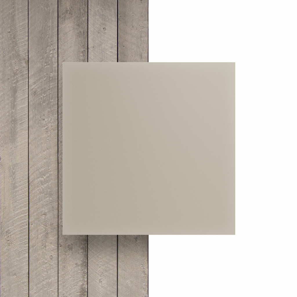 Devant Plexiglass santine blanc creme