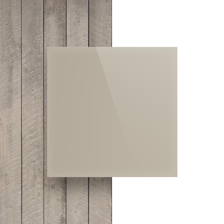 Devant Plexiglass santine blanc creme brille