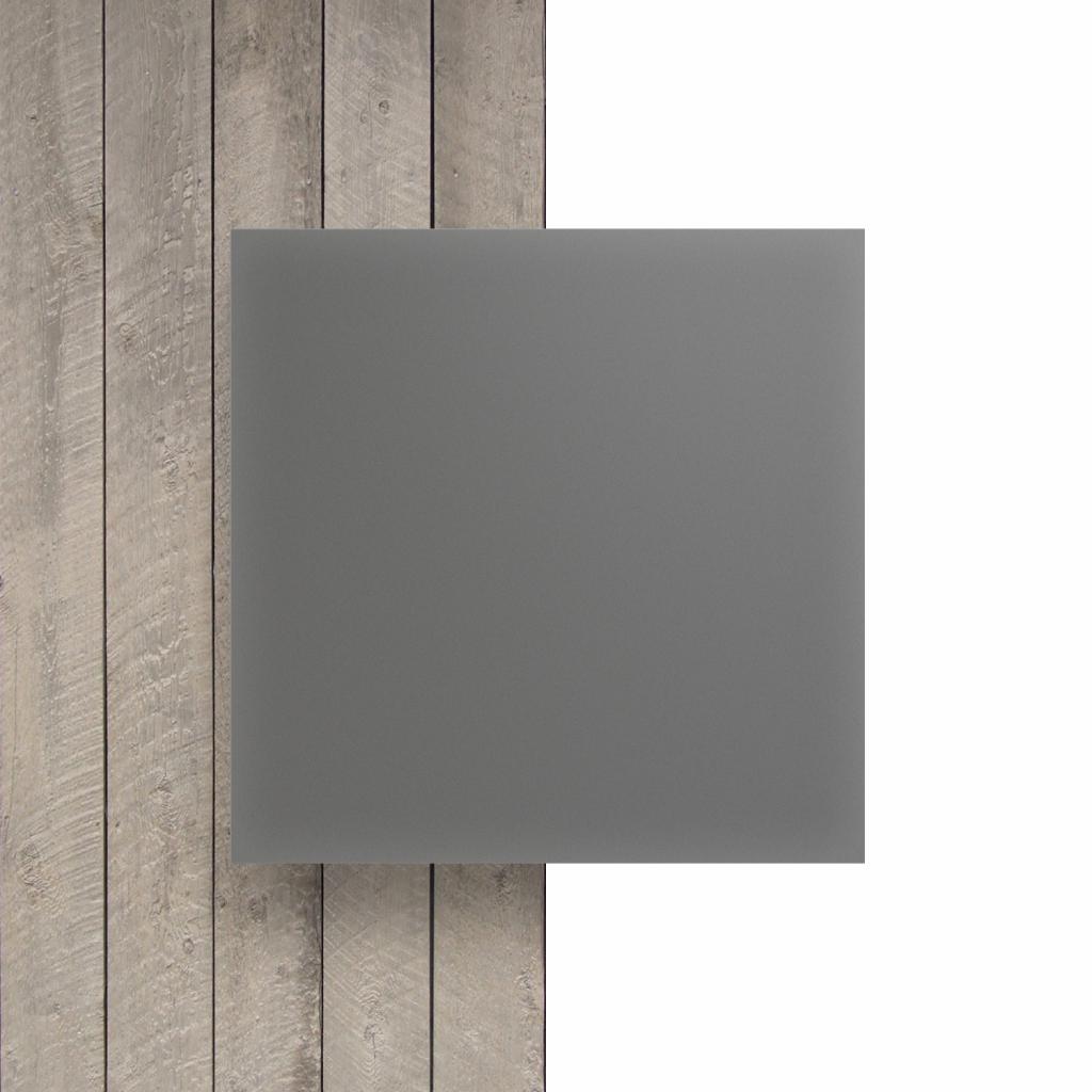 Devant Plexiglass santine gris cement