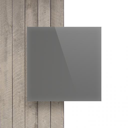 Devant Plexiglass santine gris cement brille
