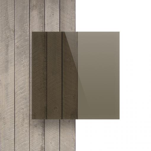 Devant Plexiglass teinte brun