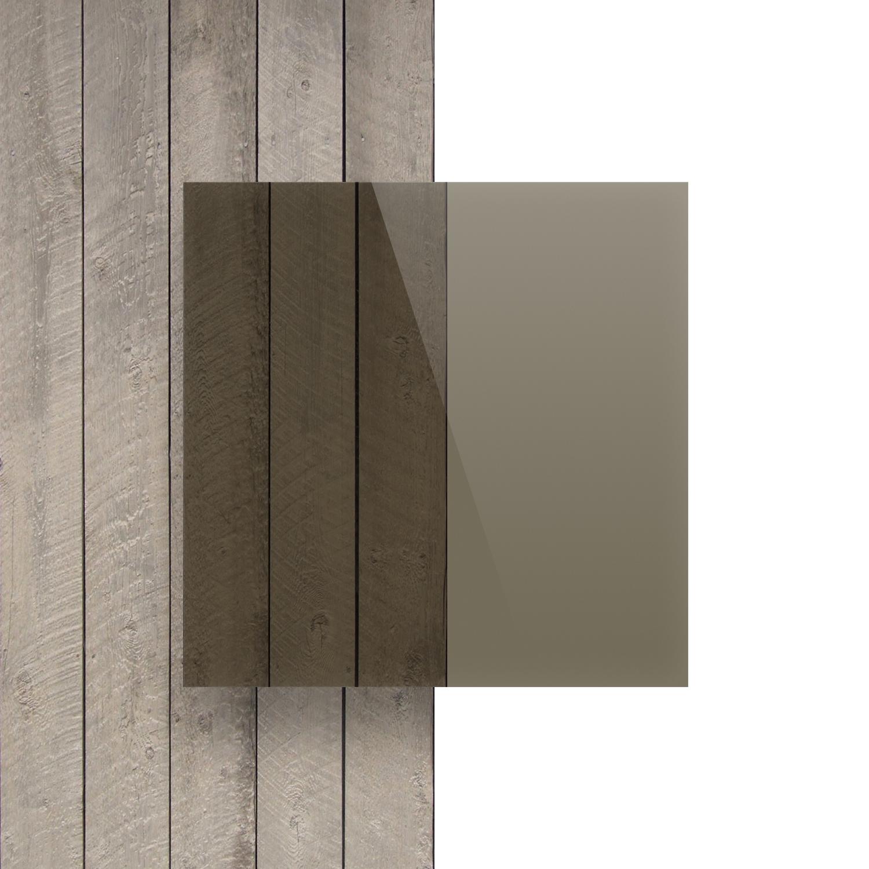 Plaque Plexiglass Teinté Brun 5mm Plexiglasssurmesurefr