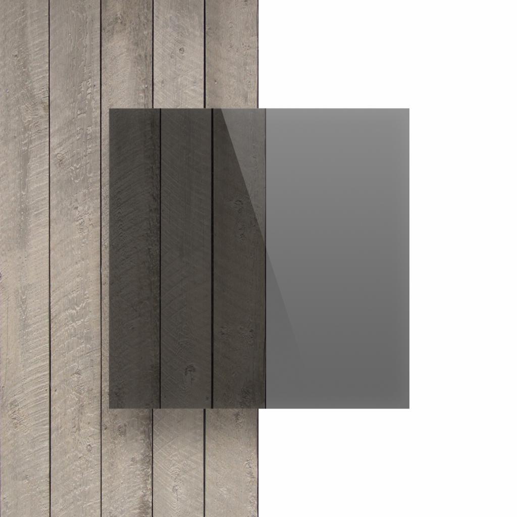 Devant Plexiglass teinte gris