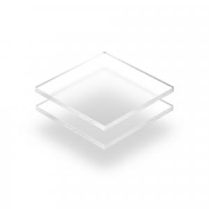 Plaque plexiglass givré