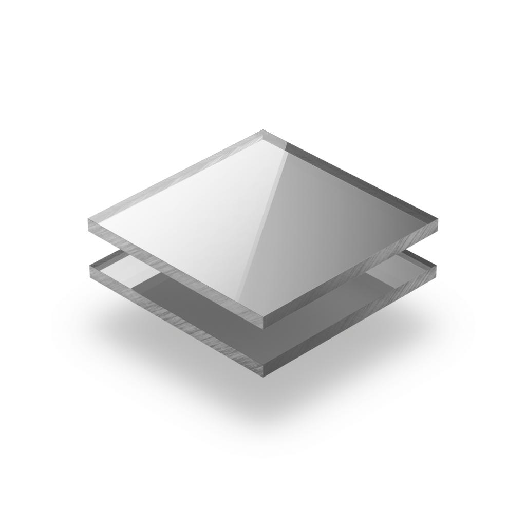 Plaque plexiglass miroir argent 5mm