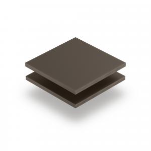 Plaque plexiglass satiné argile mat