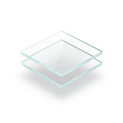 Plaque plexiglass teinté aspect de verre 3mm