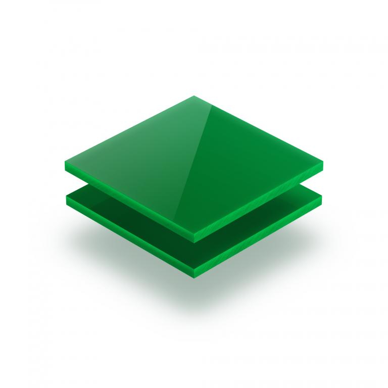 Plaque plexiglass vert opale 3mm