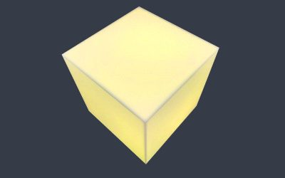 Cube lumineux à faire soi-même