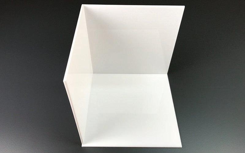 Cube lumineux à faire soi-même de l'intérieur