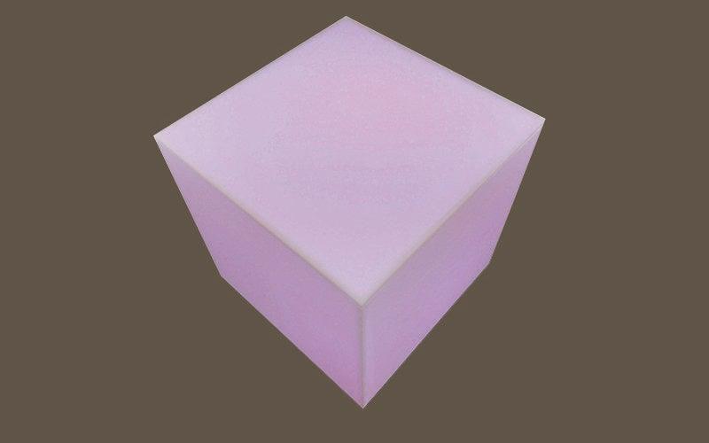 Cube lumineux à faire soi-même lumière colorée