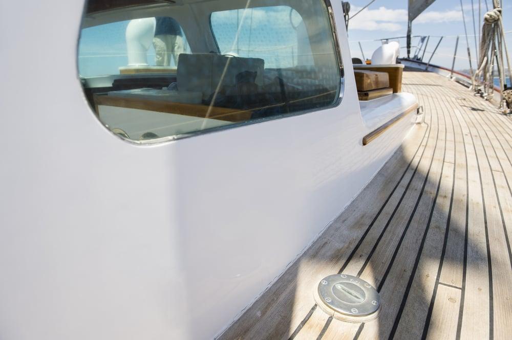 fenêtre de bateau