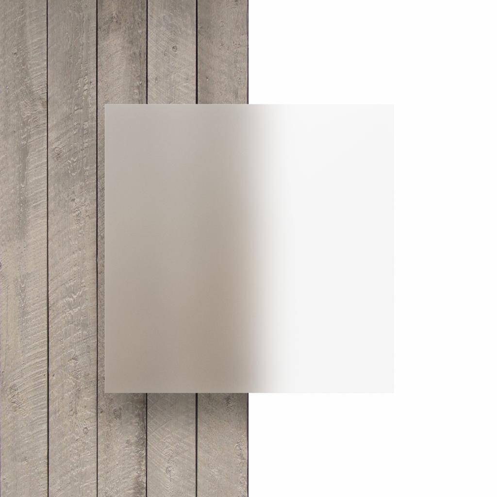 Plexiglass givre devant