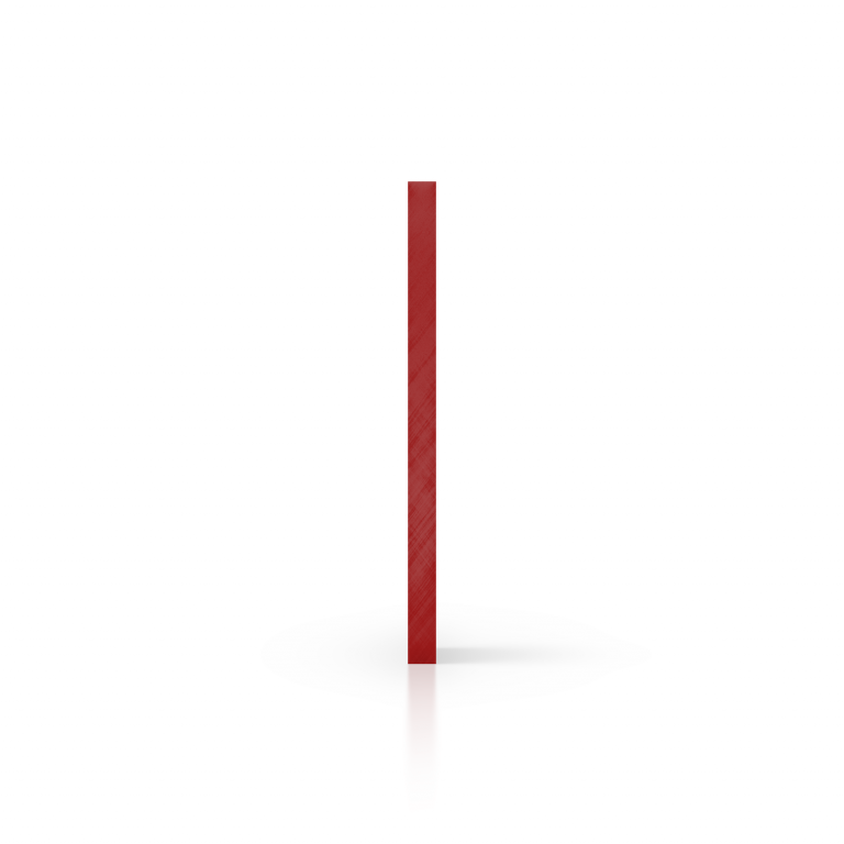 Cote plexiglass miroir rouge