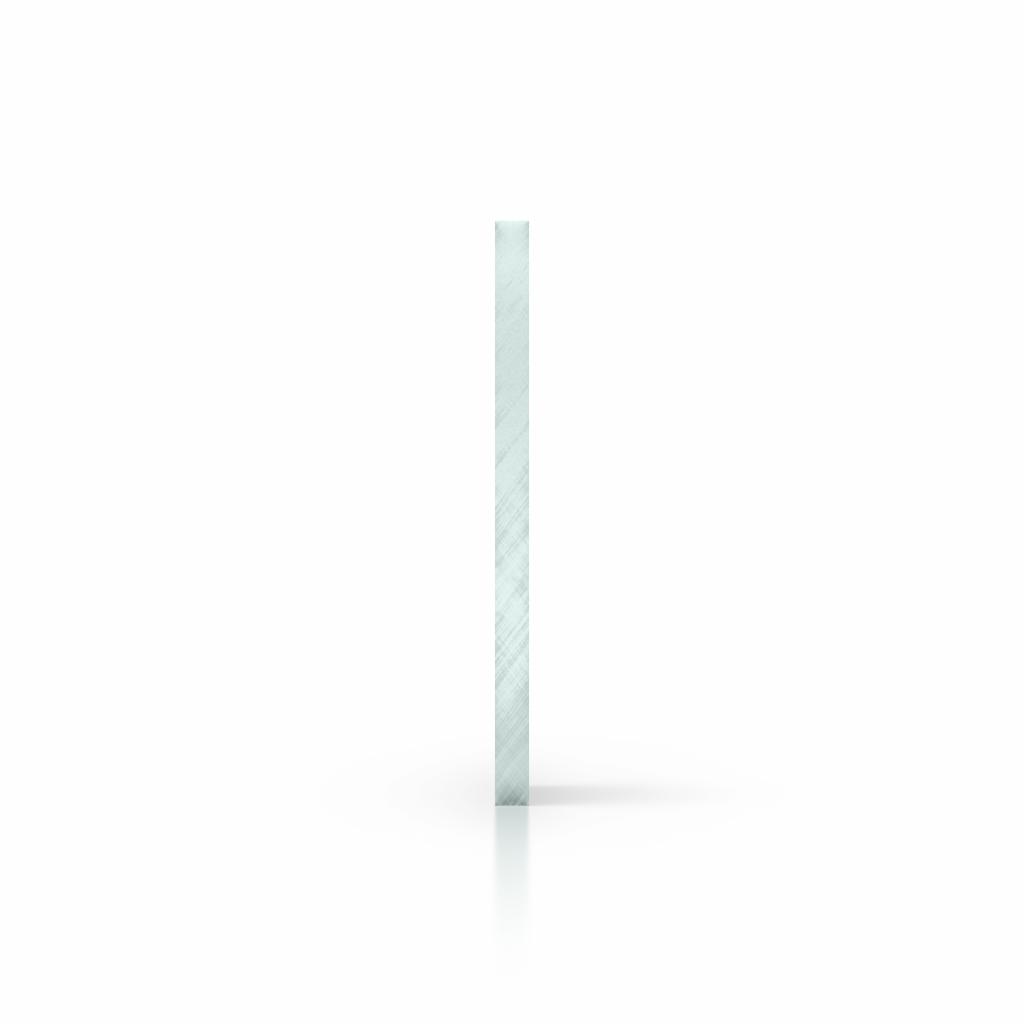 Cote plexiglass teinte aspect de verre