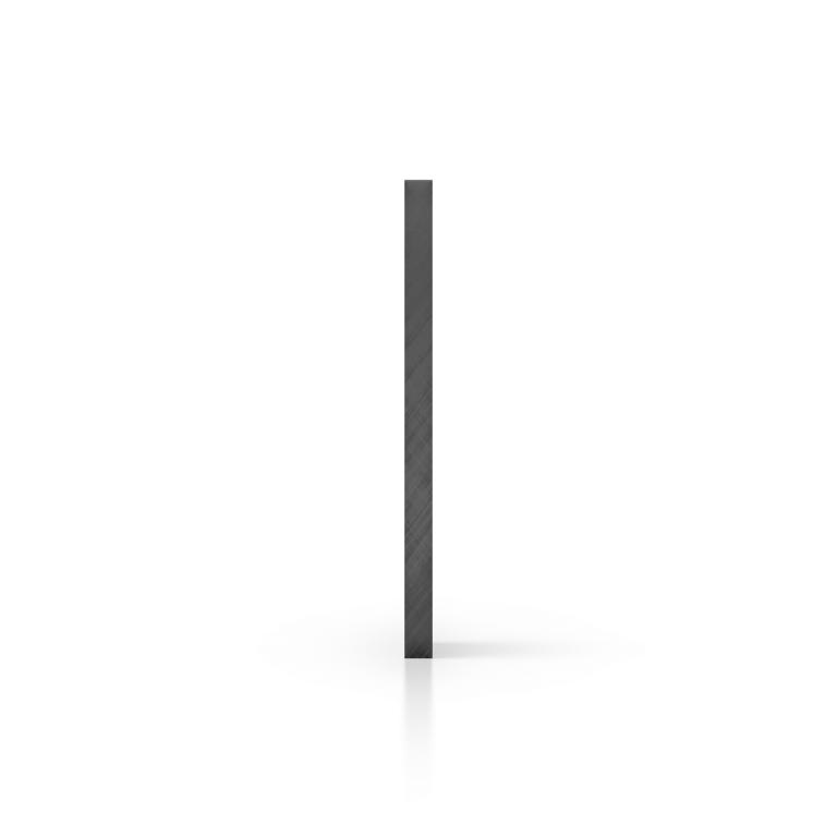 Cote plexiglass teinte gris