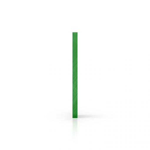 Cote plexiglass teinte vert