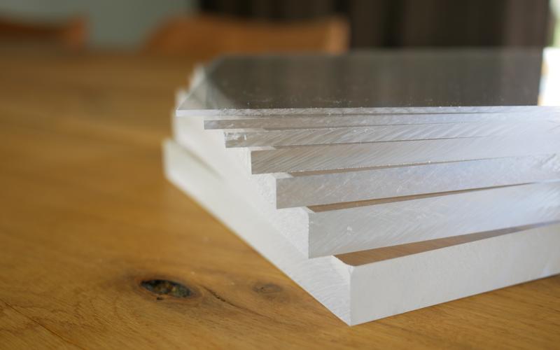 Acrylic sheet thickness