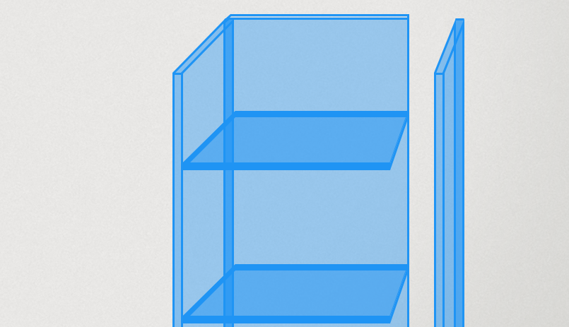 Créez votre vitrine en plexiglass 3