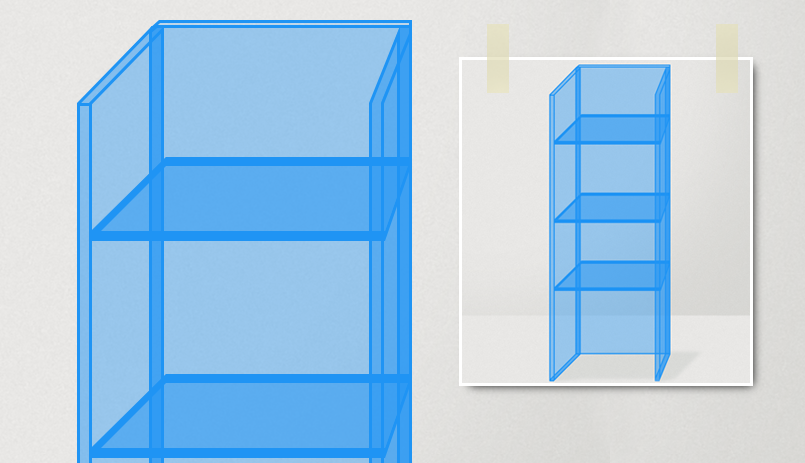 Créez votre vitrine en plexiglass