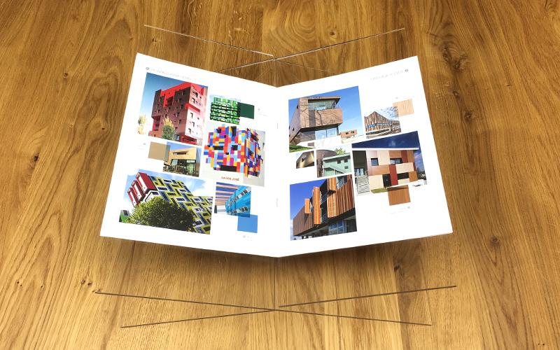 créer un support de livre en plexiglass