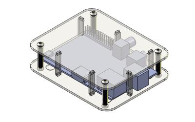 Fabriquer un étui Raspberry Pi