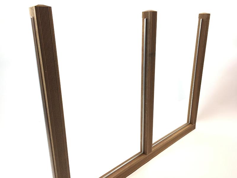 Fabrication d'un pare-vent en plexiglass etape 6