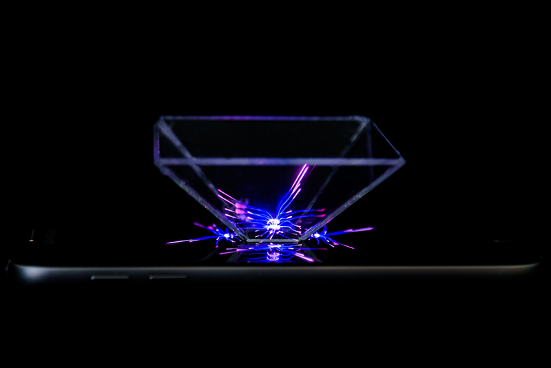 Fabriquer un hologramme en plexiglass