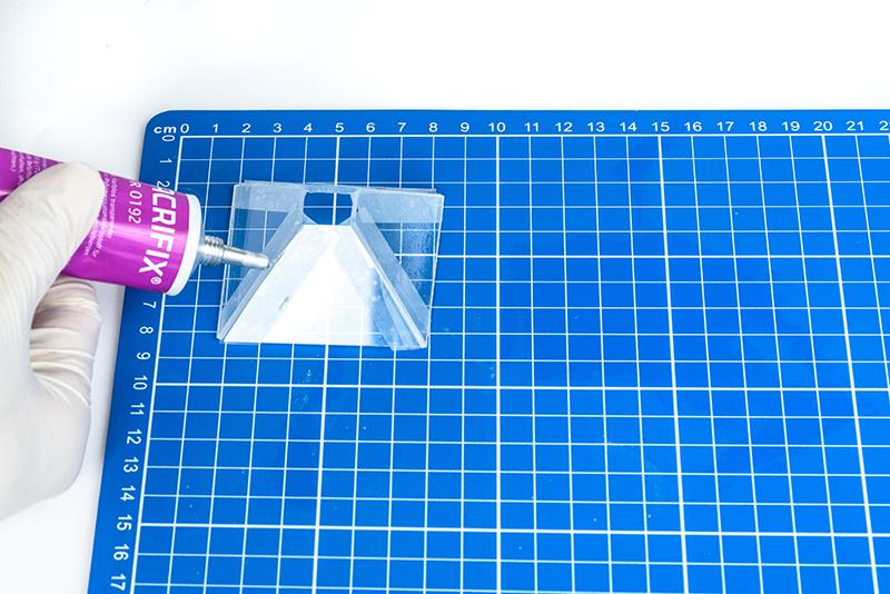 Fabriquer un hologramme etape 9