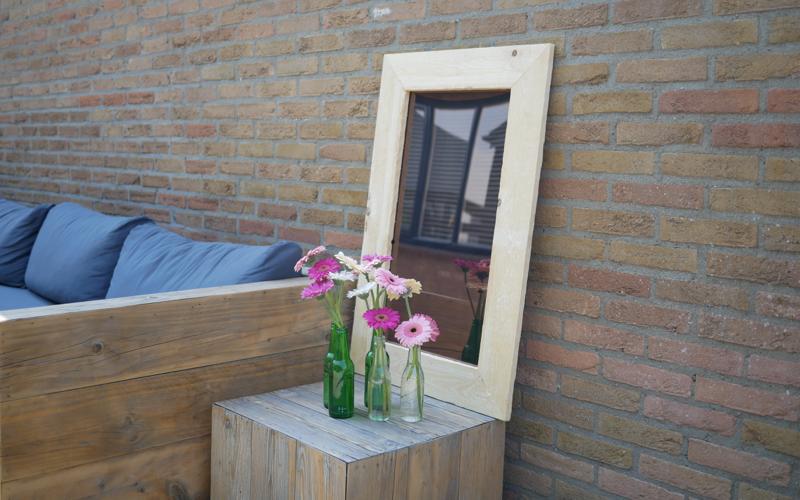 Miroir de jardin en plexiglass
