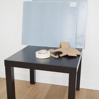 Table en plexiglass materiel 1