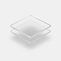 Plexiglass givre