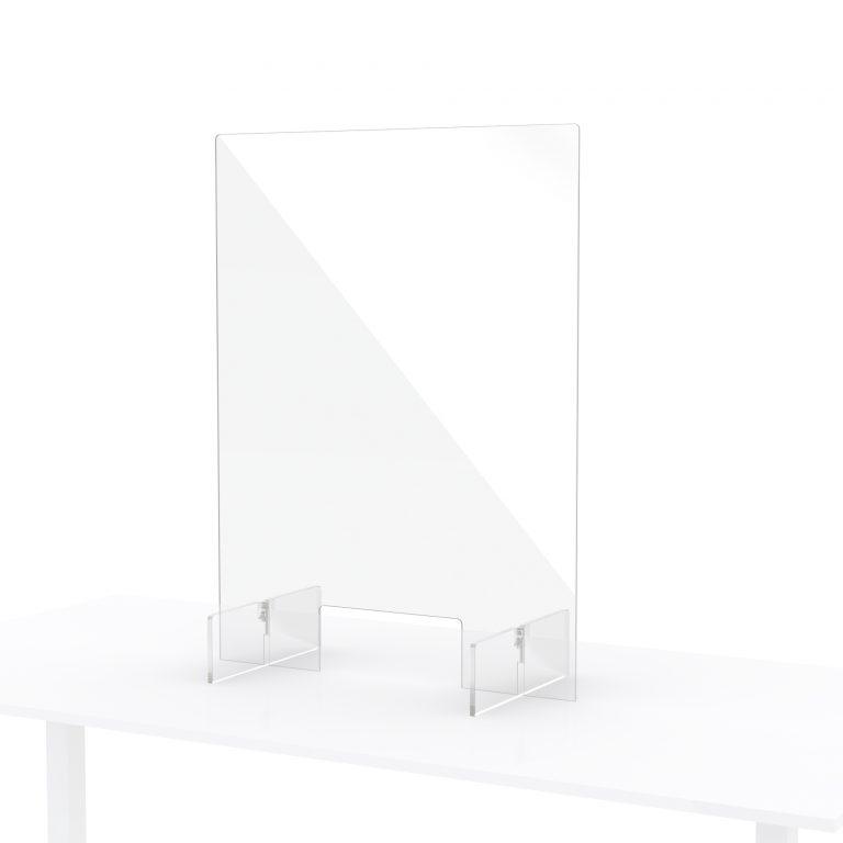 Protection pour comptoir en plexiglass 60x80