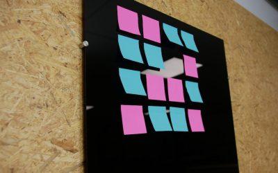 Bricolage : tableau mémo DIY
