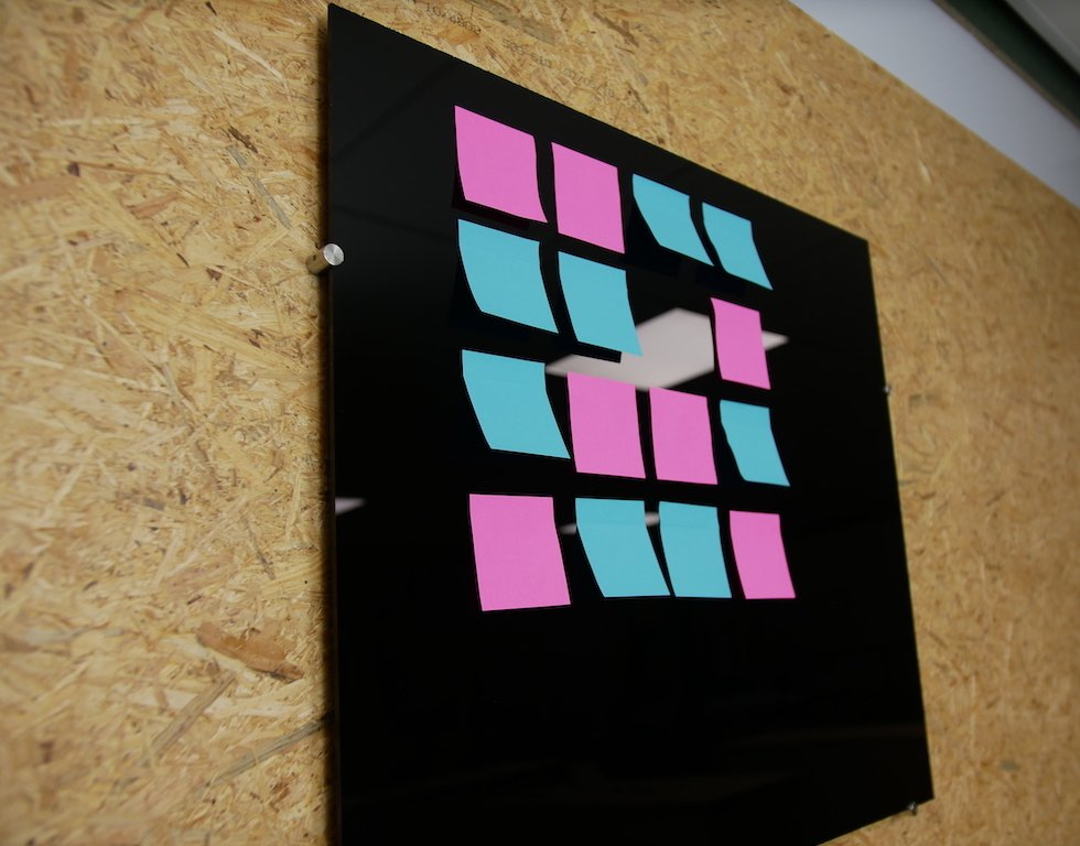 Bricolage tableau memo DIY