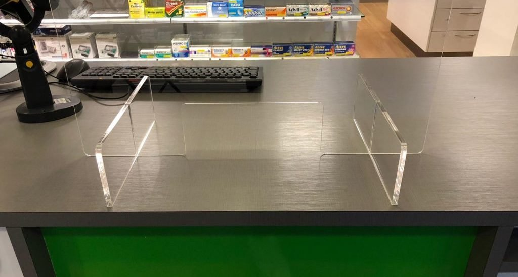 DIY ecran de protection en plastique