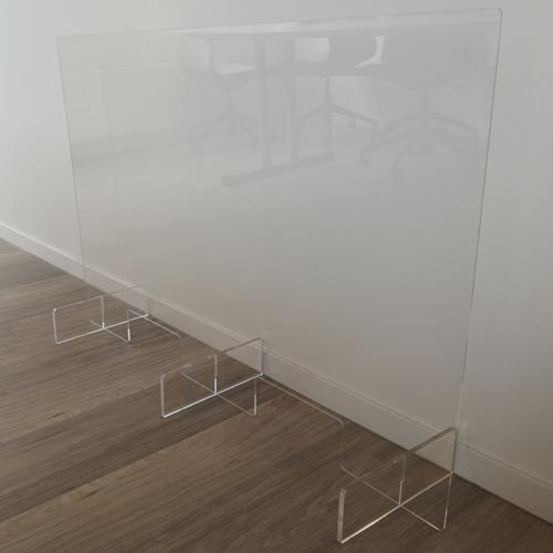 Ecran de protection en plexiglass grand