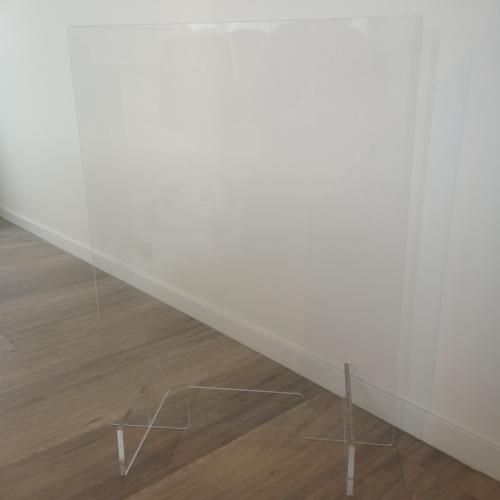 Ecran de protection en plexiglass standard