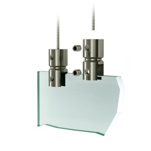 Support de plaque - Systeme de suspension plexiglass
