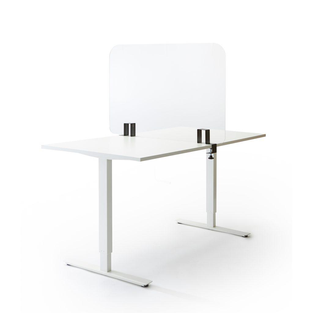 Ecran de table en acrylique