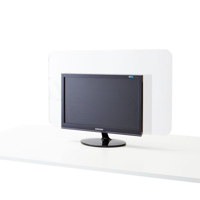 Ecran en plexiglass pour ordinateur moniteur