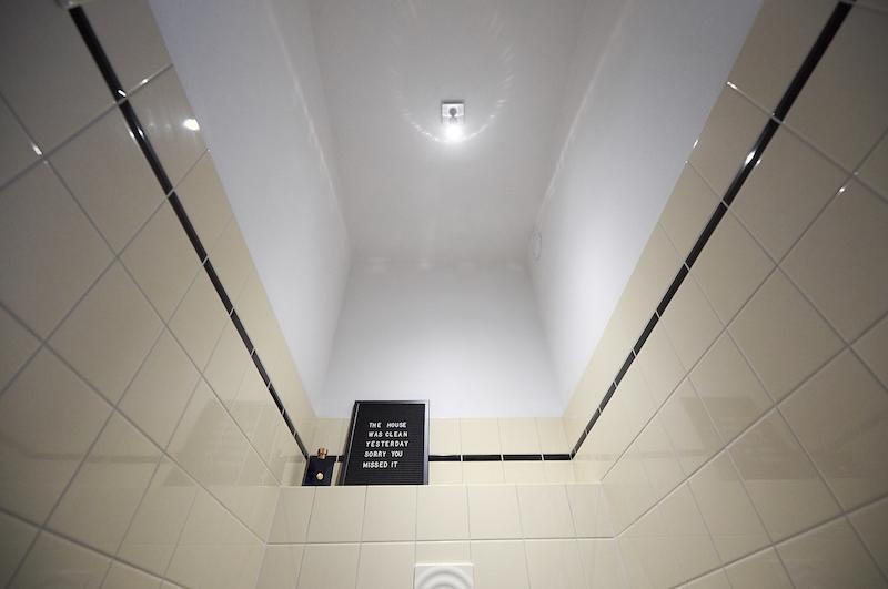 plafond de vos toilettes