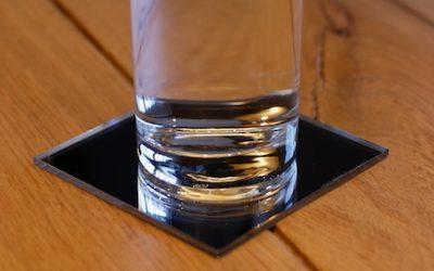 Bricolage : Dessous de verres en acrylique