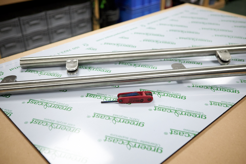 Materiel necessaire pour la fabrication d'une separateur de piece